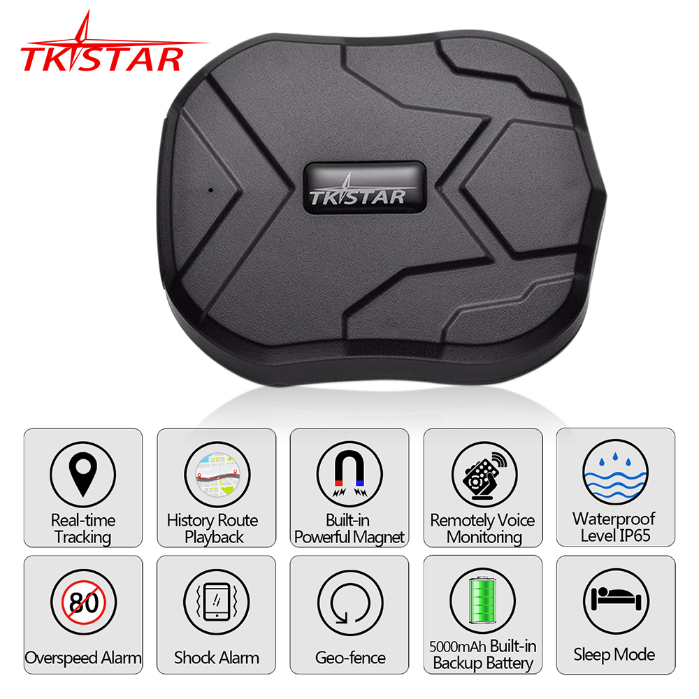 Car GPS Tracker TK905 Vehicle Tracker GPS Locator Waterproof Magnet Standby 90Days Real Time LBS Position Lifetime Free Tracking(China (Mainland))