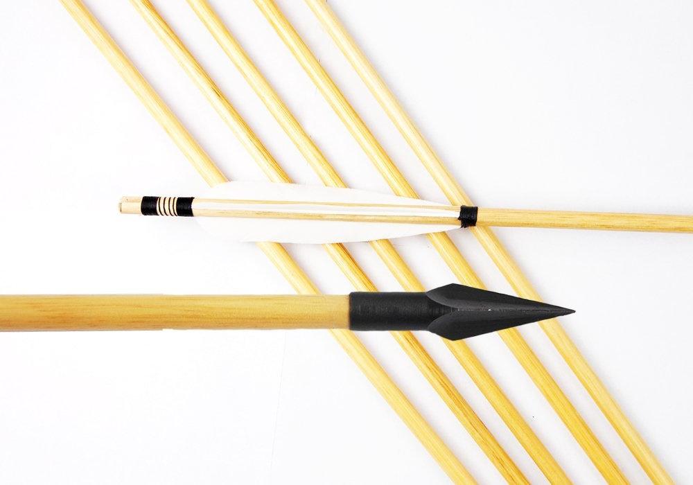Сделать стрелы лука своими руками