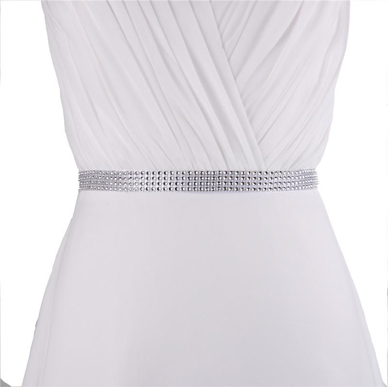 Aliexpress Buy Sparkly Cheap Wedding Belt 2cm Wide Bridal Sash Wedding Belt Wedding Dress