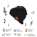 Newest Soft Warm Beanies Bluetooth Cap with Wireless Bluetooth hat Headphone Speaker Mic Smart hats Headset