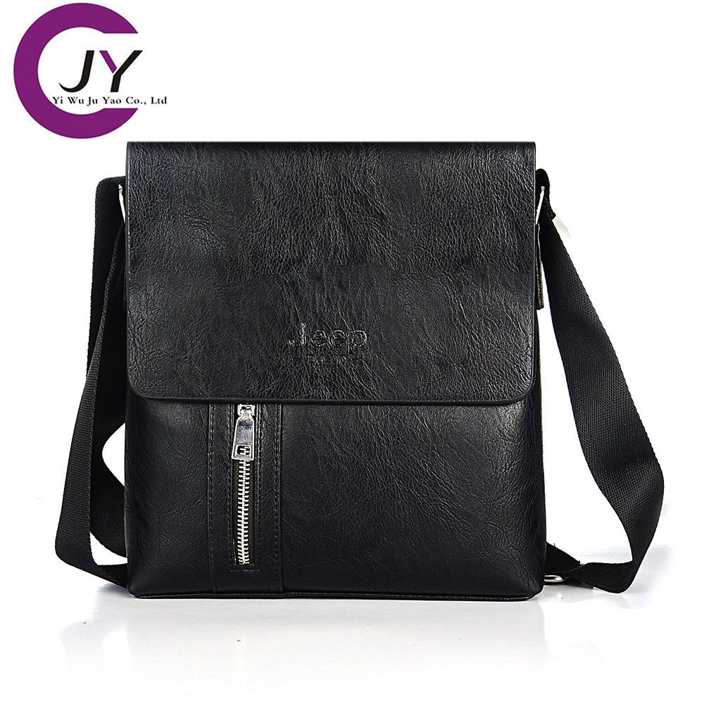 JuYao New fashion Genuine Leather male bag leather vintage crossbody bags famous brand men messenger clutch - POLG JUYAO official store