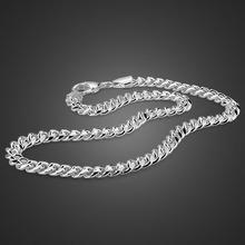 Крутая серебряная цепочка