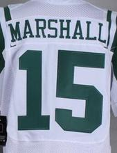 Mens 15 Brandon Marshall 12 Joe Nama 22 Matt Forte 24 Darrelle Revis 87 Eric Decker jersey, jersey,White,Green,Size M-XXXL(China (Mainland))
