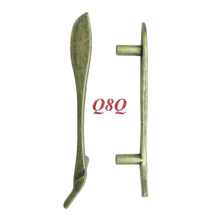 2x Bronze Spoon Knife Fork Kitchen Cabinet Drawer Handles Cupboard Kids Closet Knobs Furniture Accessory Handle Dresser Pulls(China (Mainland))