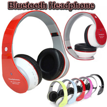 JKR-201B Bluetooth Headphones with Microphone Wireless Stereo Headset Gaming Earphone Sports Foldable Headphone TF MP3 Player