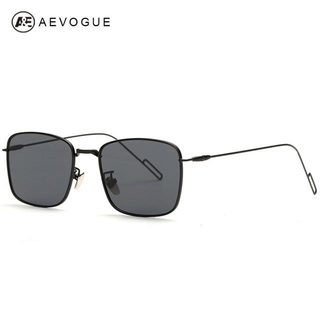 Очки aEVOGUE площади кадра поляризованных мужчины поляроидный солнцезащитные очки летний стиль óculos Masculino gafas-де-сол UV400 AE0274