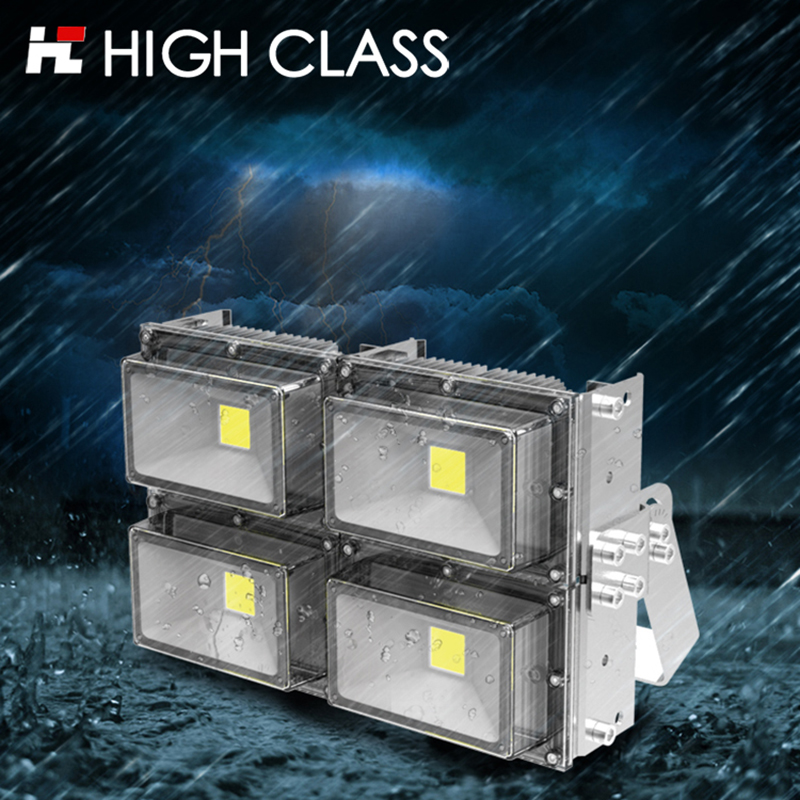 High Class Good Quality Patent Outdoor Square Ball Park Waterproof IP67 30W 50W 100W 150W 200W LED Flood Light Floodlight(China (Mainland))