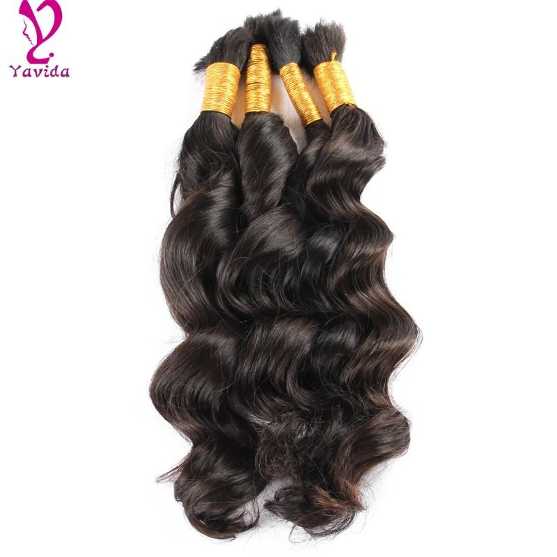 8A 1KG Virgin Malaysia Hair Loose Wave Bulk Human Hair Wholesale Human Braiding Hair Bulk No Weft Human Hair Bulk For Braiding
