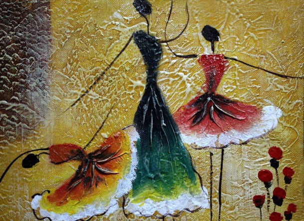 Abstract Ballet Paintings Ballet Dancing Abstract