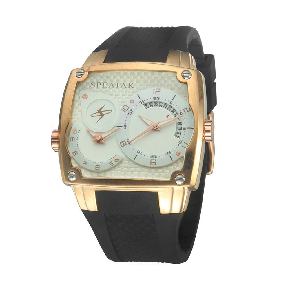 2016 мужская Мода Часы Черный Большой Набор Двойной Таймер Два-движение С Календарем Кварцевые Наручные Часы Черный HB88
