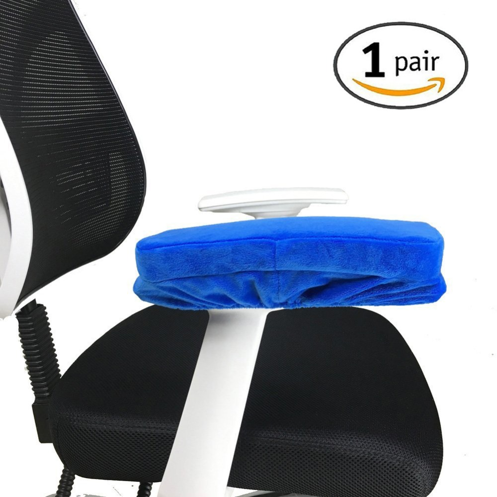 2pcs Chair Armrest Pads Ultra-soft Memory Foam Elbow Pillow Support Universal Fit For Home Or Office Chair For Elbow Relief With A Long Standing Reputation Furniture Accessories