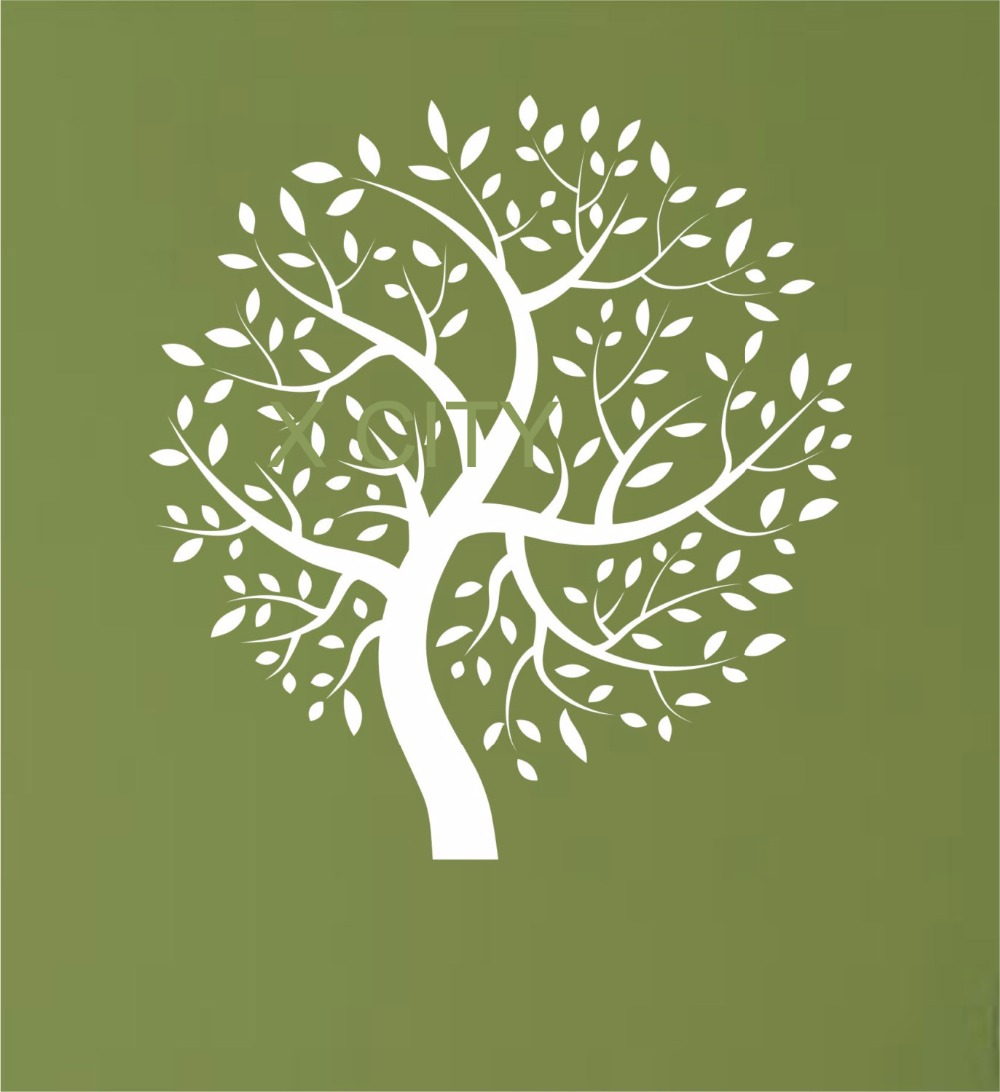 Nature Wall Decor Stickers : Tree nature vinyl wall decal sticker art decor bedroom