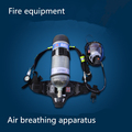 Fire control carrying breathing apparatus positive pressure breathing apparatus 6 8L carbon fiber cylinders DHL Free