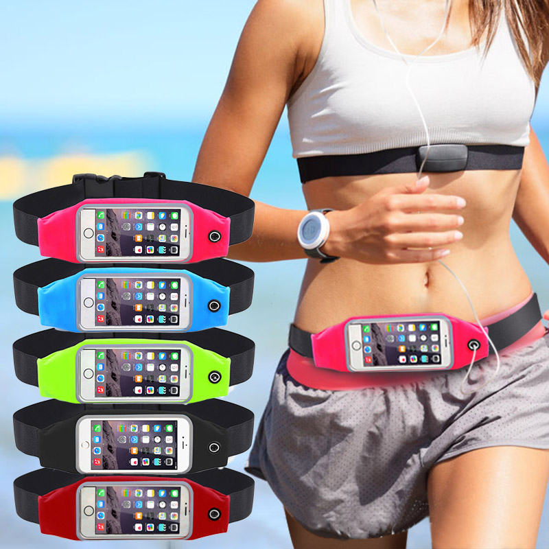 Gym Waist Bag Waterproof Sport Case For iPhone 6 6S 7 Plus Samsung Galaxy Grand Prime J5 S6 S5 Running Wallet Mobile Phone Pouch(China (Mainland))