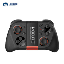 Buy MOCUTE 050 VR Game Pad Android Joystick Bluetooth Controller Selfie Remote Control Shutter Gamepad PC Smart Phone + Holder for $13.89 in AliExpress store