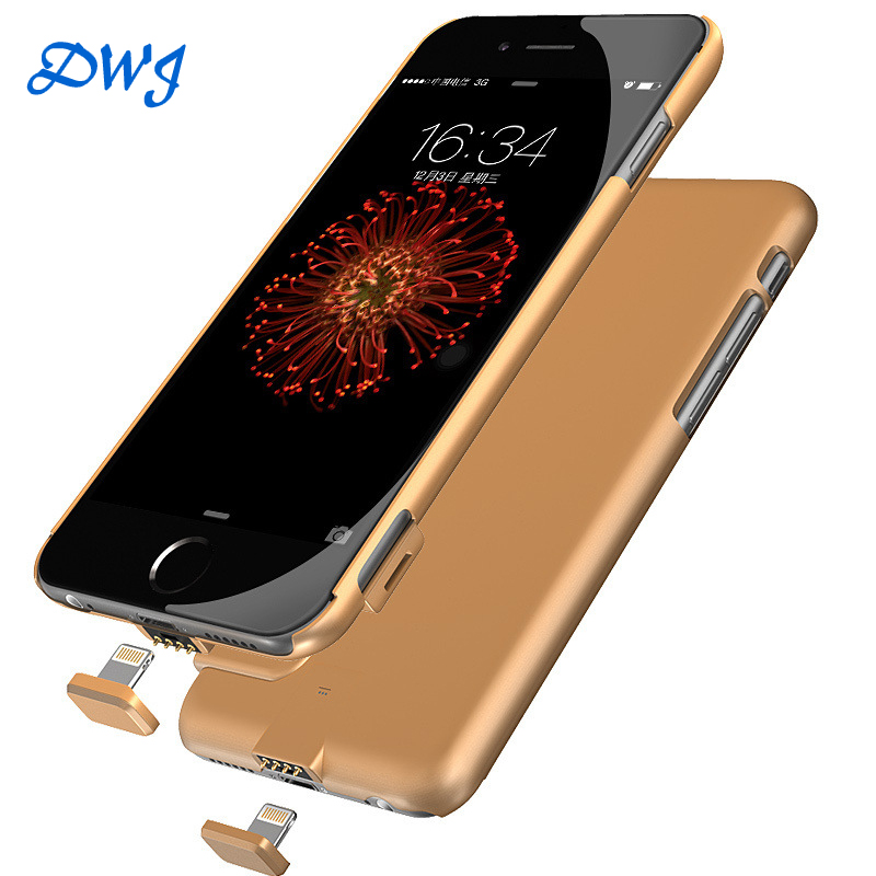 2016 For iphone 6s smart battery case 1500 mah Ultra thin Backup Charger Cover For apple smart battery case iphone 6 6s power(China (Mainland))