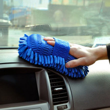 Car cleaning brush Cleaner Tools Microfiber super clean Car Cleaning Sponge Product Cloth Towel Wash Gloves Supply Care Brushes(China (Mainland))
