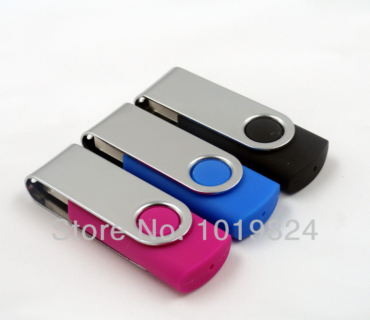 Mini rotating usb flash drive hot sale usb 2.0 gift box 8GB /16GB key usb memory stick pen drive S82(China (Mainland))