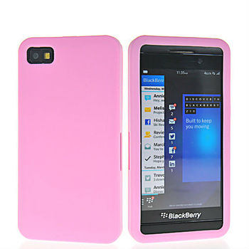 New arrival Soft TPU Gel Smooth skin cover case for Blackberry Z10 - Free shipping