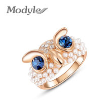 Modyle mix wholesale Factory price! vintage Style (Bronze\ silver ) Owl Ring jewelry finger rings for women,free shipping(China (Mainland))