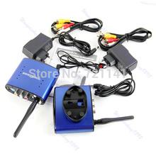 Para PAT530 5.8 GHz Remitente AV Wireless Transmisor Receptor IR Adaptador original