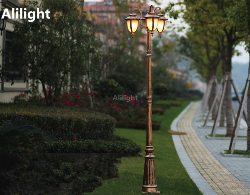 Acquista europe garden outdoor lighting pali nero bronzo