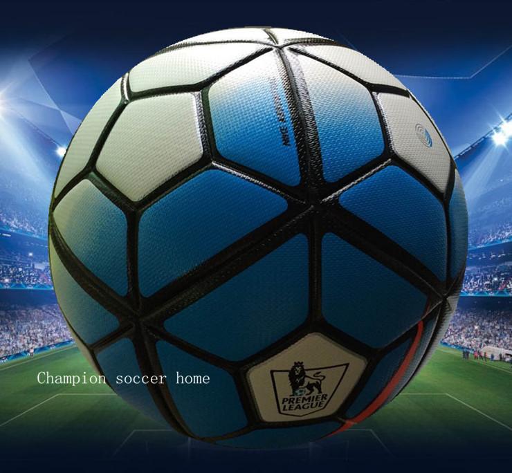 2015 New Premier league soccer ball England/Span league football Anti-slip granules football ball PU size 5 balls free shipping(China (Mainland))