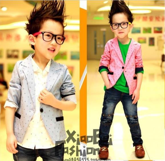 Promotion!2016 new Spring/autumn fashion Boys Blazers cotton children Casual suit boys wedding clothes fashion boys blazer(China (Mainland))