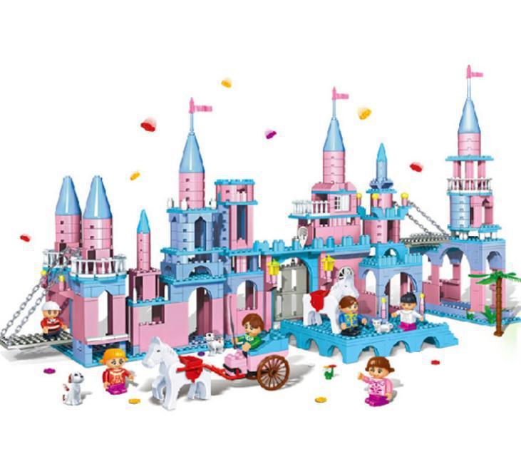 Super Large Building Blocks Set Compatible with Lego Friends Princess ...