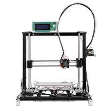 Full Metal DIY 3d printer Kit Reprap Prusa i3 3d printer with one roll filament