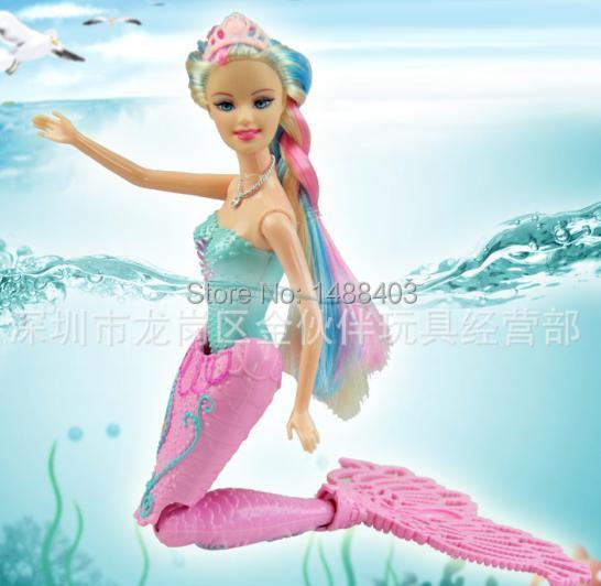 Free Shipping New Fashion doll Moxie Girls Magic Mermaid Doll Girls Toys anime classic toys for bath dolls(China (Mainland))