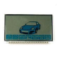 Display LCD para Starline B9 Versão russa Carro de Controle Remoto de Alarme de Segurança(China (Mainland))