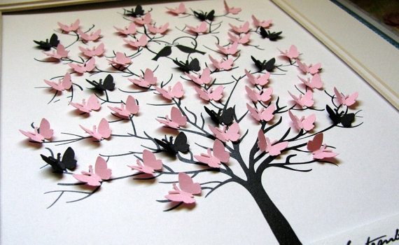 Sticker computer paper picture more detailed picture for 3d wall butterfly decoration