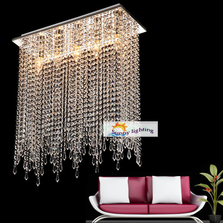 crystal ceiling lamp dining room lustres abajur modern ceiling light
