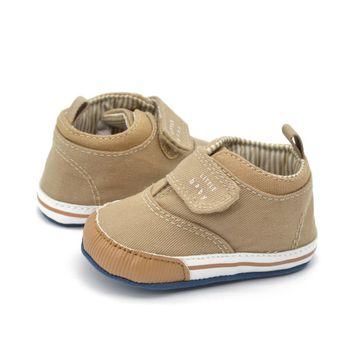 Newborn Kids High Prewalker Soft Sole Cotton Ankle Boots Crib Shoes Sneaker First Walkers