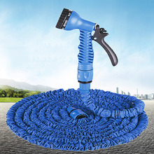 25FT-100FT Expandable Magic Flexible Garden Water Hose Hose Plastic Hoses Pipe With Spray Gun To Watering(China (Mainland))