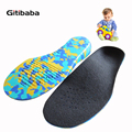 3D Orthotic Insoles flat feet for kids and Children Arch Support insole for X Legs