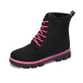 Winter Casual Women Boots Hot Women Warm Martin Ankle Boots Women Lace Up Cotton Plus Velvet
