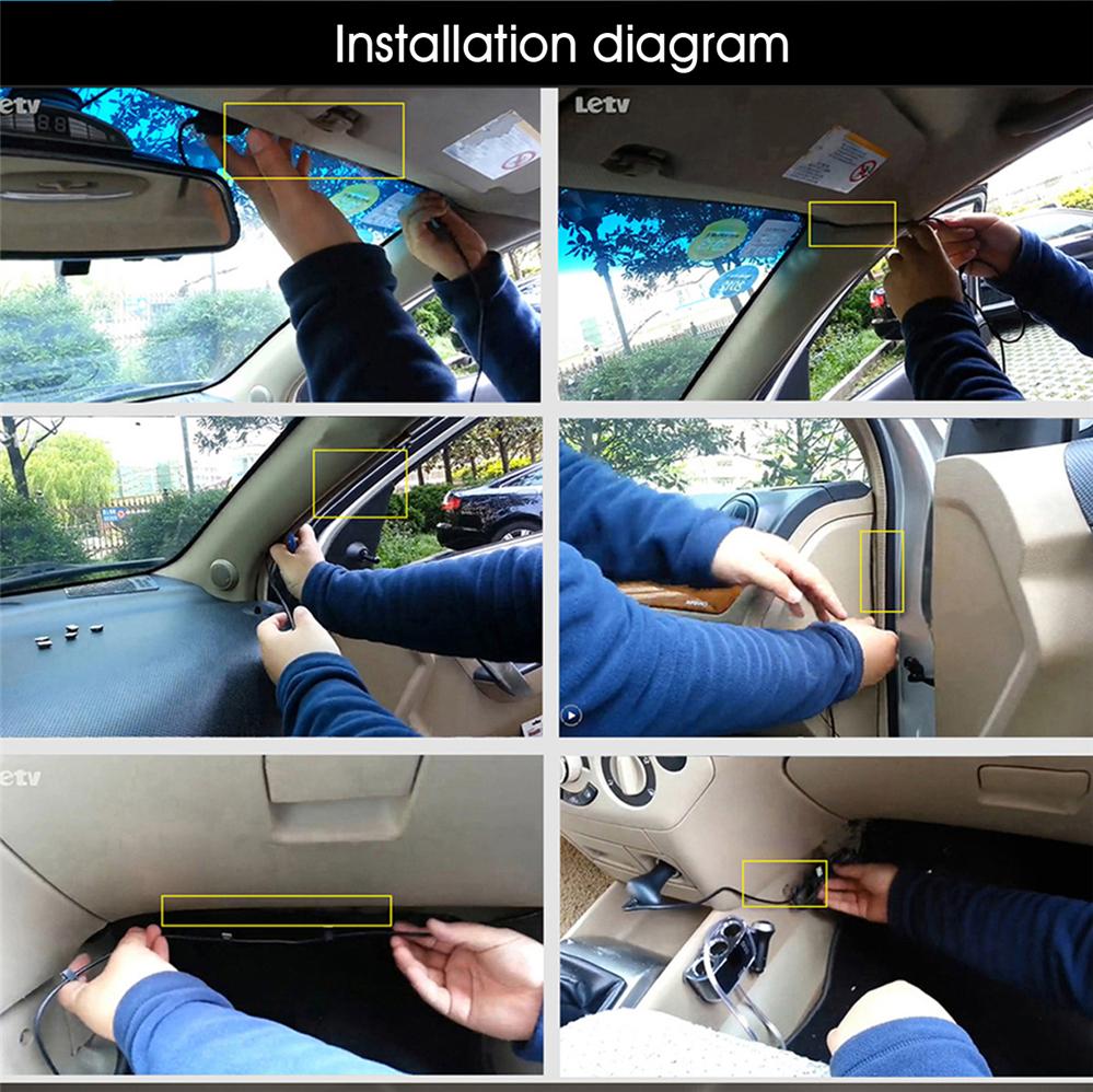 Small-eye Car Camera Ambarella A12 Car DVR Video Recorder 170 Degree 2560*1440P Cam GPS Logger G-Sensor HDR H.264 Night Vison