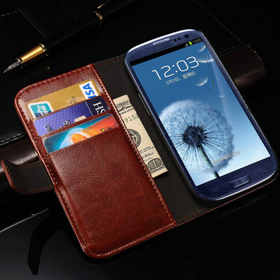 Vintage Wallet Leather Case For Samsung Galaxy Grand DUOS i9082 i9060 with Stand Card Holder Flip Style Drop Ship(China (Mainland))