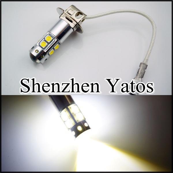 2pcs LED car H3 cree 50W ,DC 12V car led cree H3 fog light, H1,H3,T10, T15 LED cree(China (Mainland))