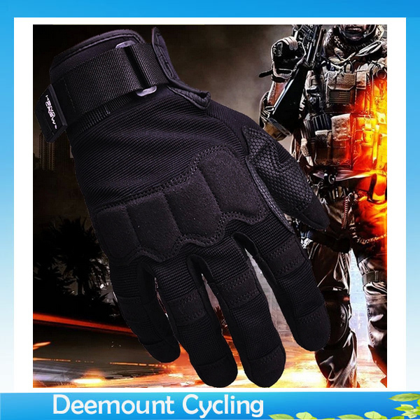 Winter Cycling Gloves Full Finger Racing /Riding Gloves Men Cycling Specialized Gloves Military Tactical Gloves For Fitness XL(China (Mainland))