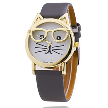 Clever Cat with Glasses Watches (10 types)