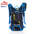 HOT 2017 Outdoor Mountain bike riding backpack tourism travel cycling knapsack waterproof mountaineering bag With Helmet