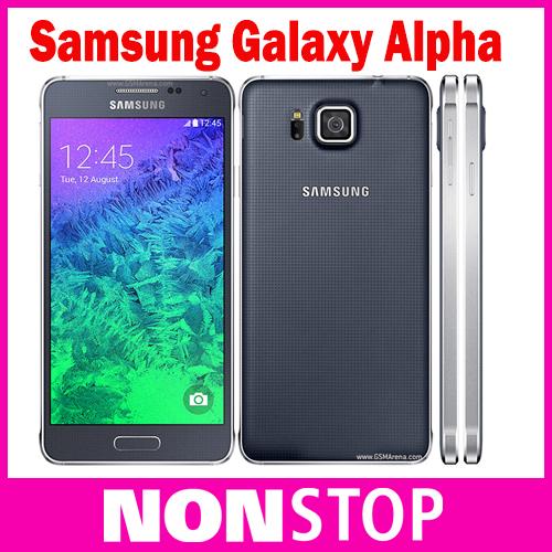 "Original Samsung Galaxy Alpha G850F Octa Core 2GB RAM 12.0MP 4.7""TouchScreen LTE 32GB Unlocked Phone(China (Mainland))"