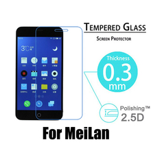 Premium 0.3mm 2.5D 9H Explosion-Proof Toughened Tempered Glass For Meizu Meilan 5″ LCD Film HD Arc Screen Protector Cover Guard