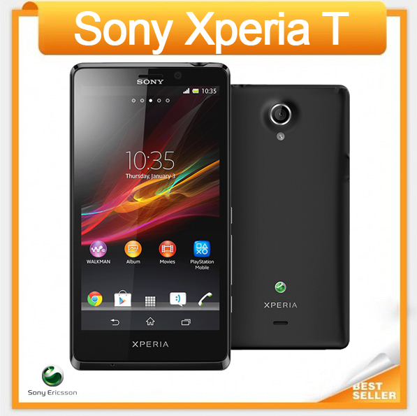 Unlocked Original Sony Xperia T LT30p Cell Phone 4.6''Android Smartphone Dual-core 1GB RAM 13MP Camera 3G GPS WiFi Free Shipping(China (Mainland))