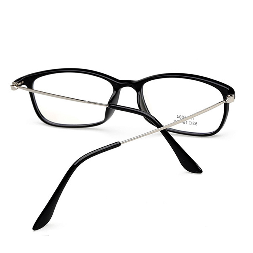 Hot Sale Eyeglasses Frame Women Men Square TR Material Glasses Eyewear 6 Color