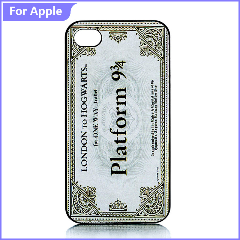 Classic Pattern Phone Case Apple iPhone 5 5S SE Harry Potter Train Ticket Skin Hard Protective Plastic Cover  -  FashionPhoneCase store