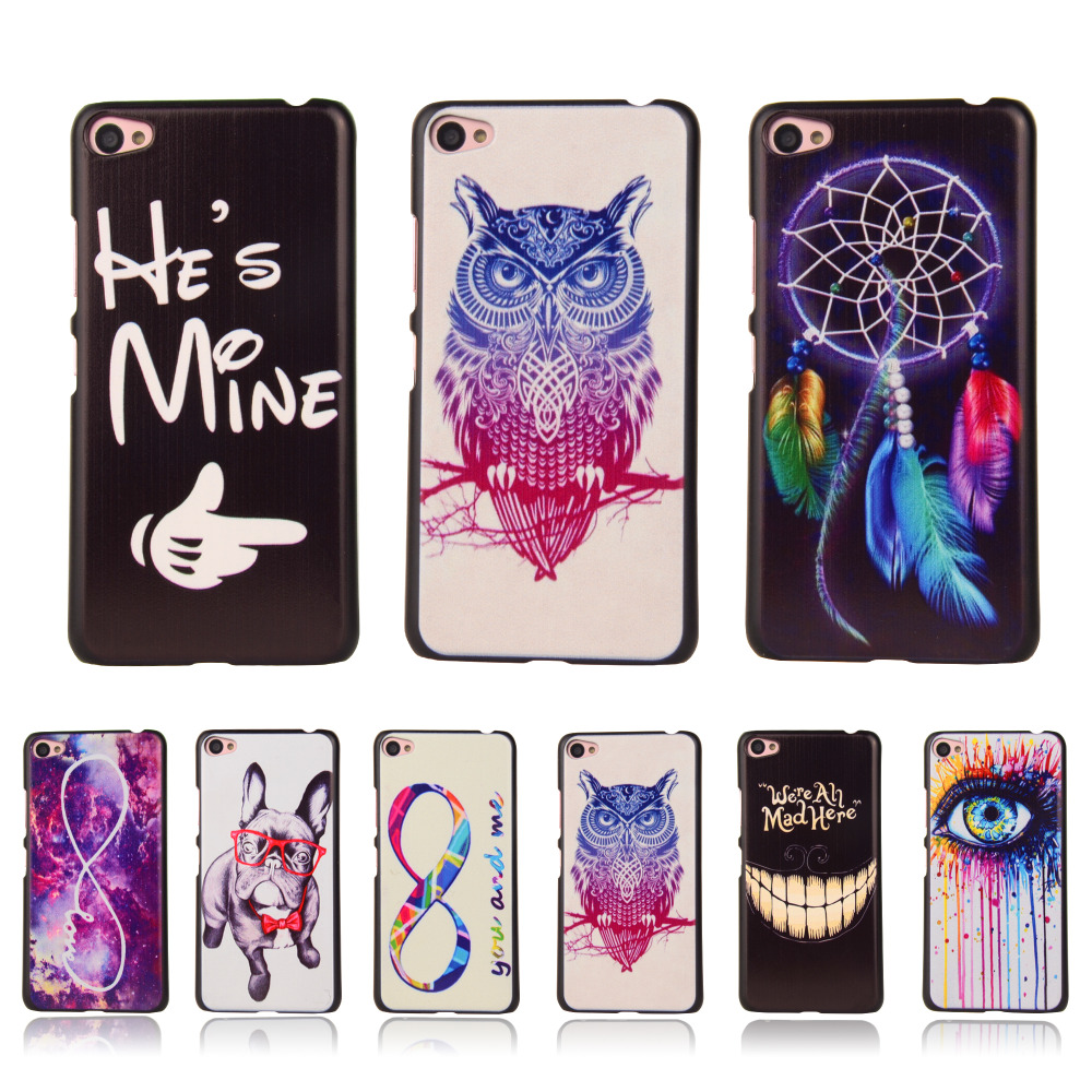 S60 S60W Ultra Thin Cartoon Hard Cover For Lenovo S60 S60W Colorful Printing Drawing Plastic Back Protective Cell Phone Case(China (Mainland))